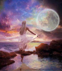 volle maan healing